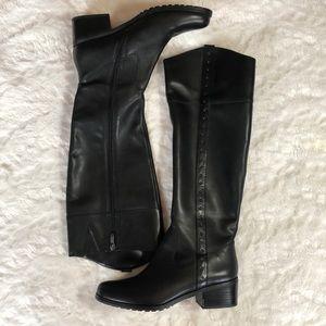 Women's 8.5 Tahiti Knee High boots Black